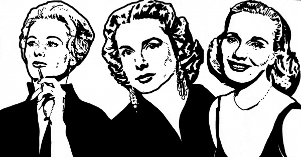 Grace Kelly, Eva Marie Saint by ladyjart